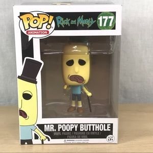 Funko Pop Animation Rick And Morty 177 Mr Poopy